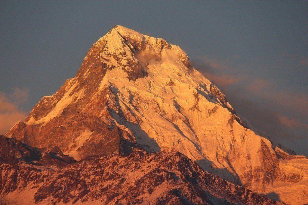 Annapurna South Sunrise View