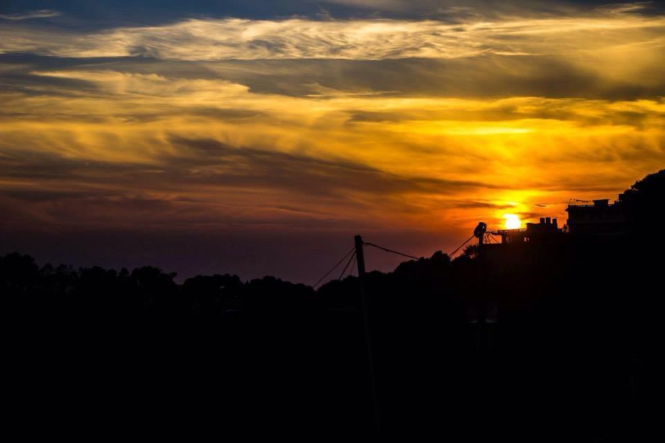 Sunset view from nagarkot