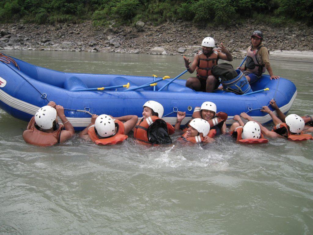 Trisuli River Rafting In Nepal