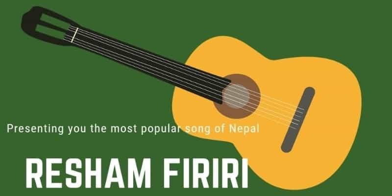 Resham firiri Lyrics