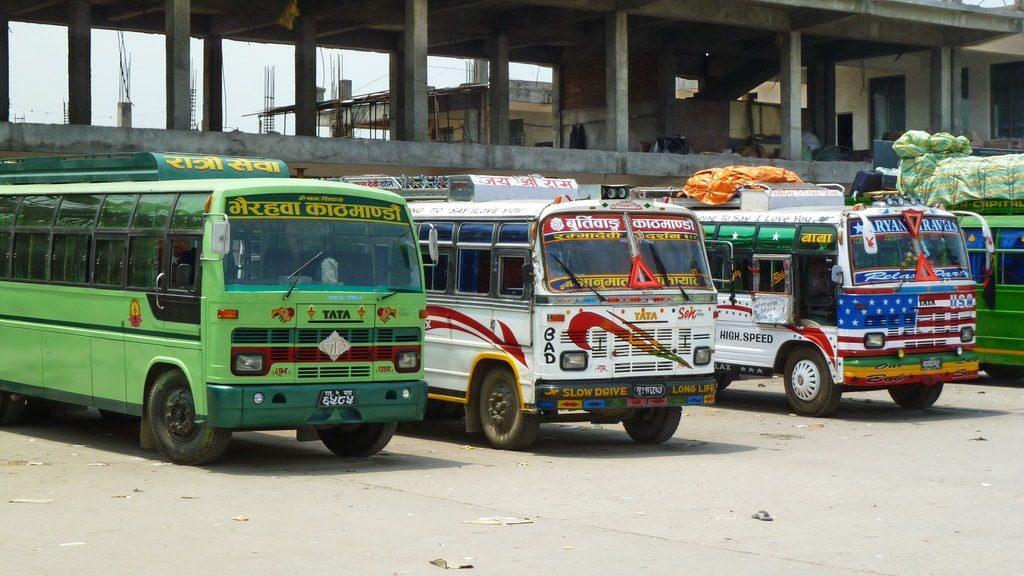 Kathmandu to Pokhara by public bus