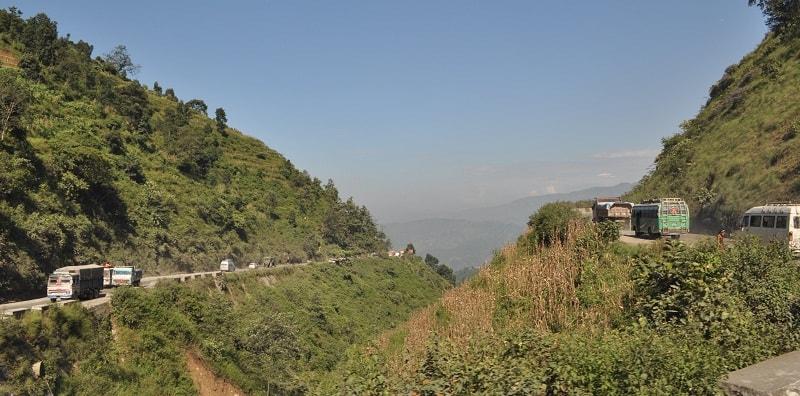 kathmandu to pokhara by road