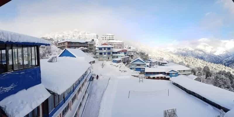 Ghorepani village Annapurna