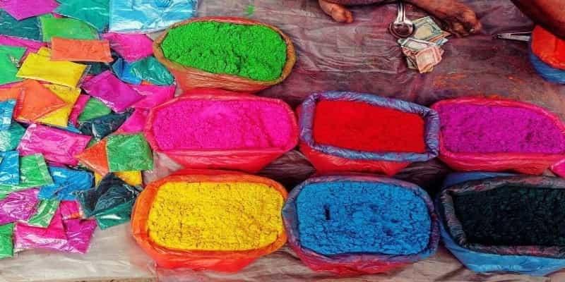 Holi festival color