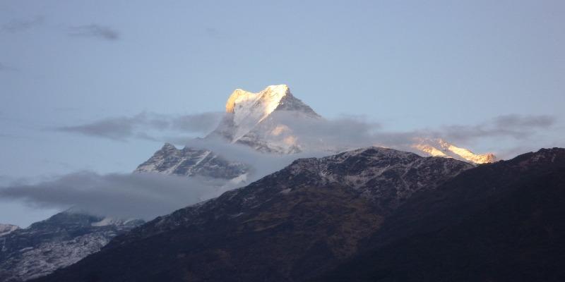 trekking in Nepal in july