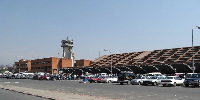 Tribhuwan International Airport in Nepal