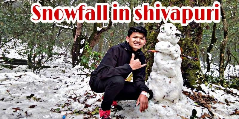 snowfall in Shivapuri