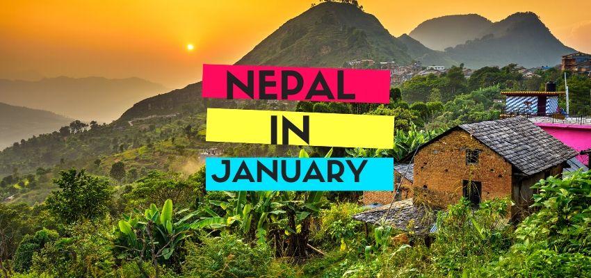 Nepal in January